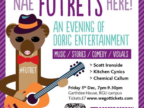 Nae Futrets Here – An Evening of Doric Entertainment